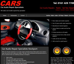 Car Audio Repairs